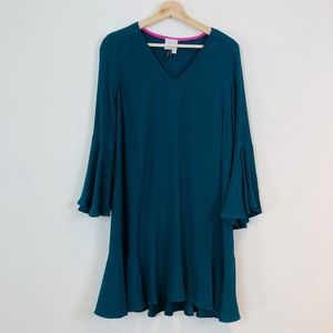 Anthropologie HD in Paris Bell Sleeve Shift Dress